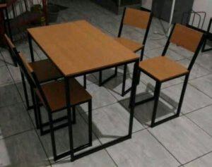 meja cafe kaki besi