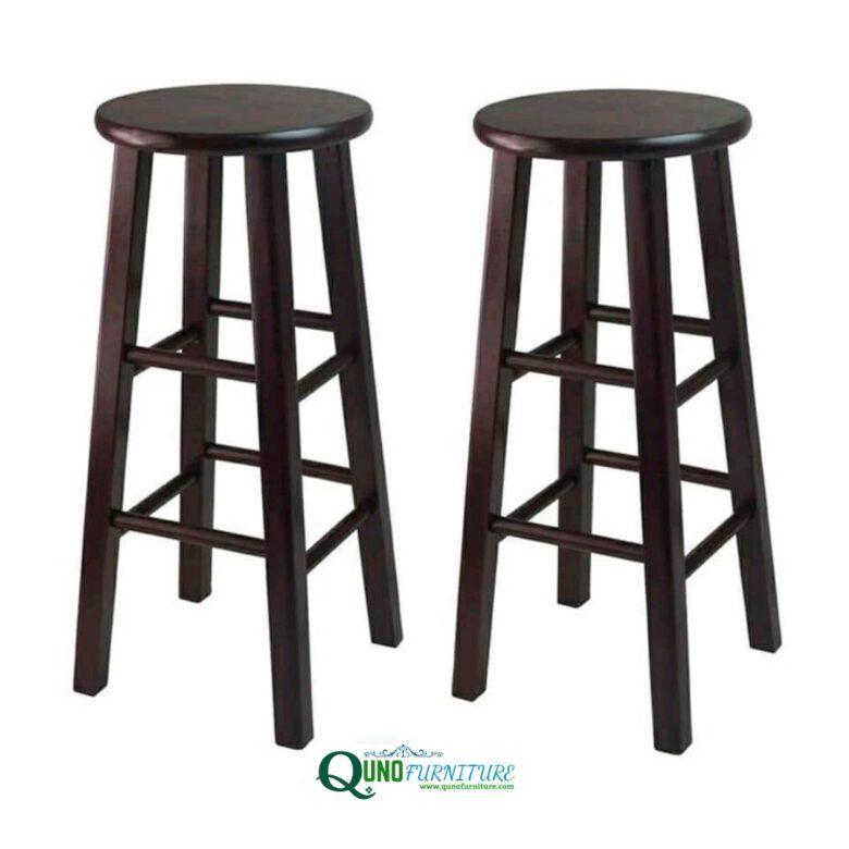 Kursi stool kayu jati