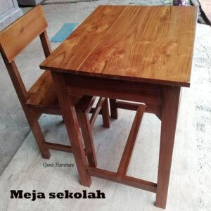 ukuran meja sekolah